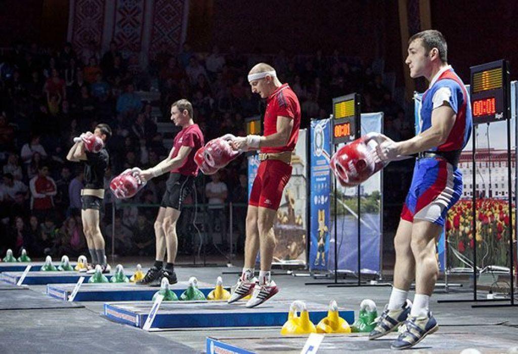 гиревой спорт соревнования