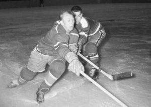 Николай Сологубов (слева), 1959 г.